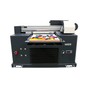 ocbestjet מיקוד מדפסת קטנה a4 גודל מכונת הדפסה דיגיטלית uv מדפסת שטוחה