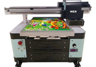 oversea תמיכה במכונה דיגיטלית A2 מדפסת שטוחה