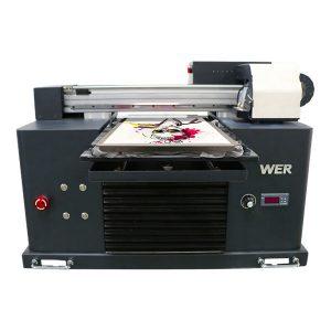a3 גודל ההדפסה טקסטיל dtg מדפסת שטוחה עבור חולצת הדפסה מכונת
