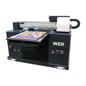 A3 מדפסת UV, מתקדם בגודל קטן אוטומטי מדפסת שטוחה uv