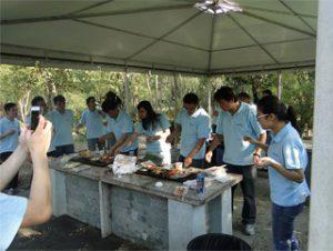 BBQ בפארק Gucun, סתיו 2014
