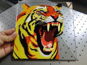זכוכית פתרון הדפסה