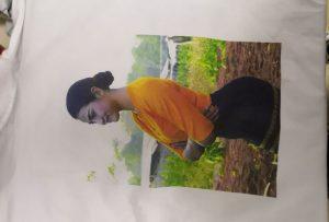 חולצות הדפסה מדגם עבור לקוח בורמה מ WER-EP6090T המדפסת