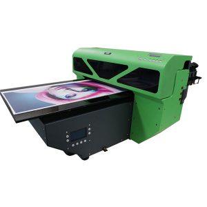 A2 פורמט קטן שטוח עם מדפסת שטוחה עם 1 מחשבים dx5 ראש ההדפסה