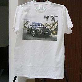 לבן חולצת הדפסה מדגם על ידי A3 חולצת טריקו מדפסת WER-E2000T 2