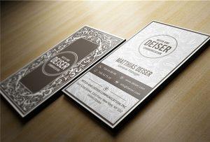 כרטיס שם עץ מודפס על ידי A1 uv WER-EP6090UV